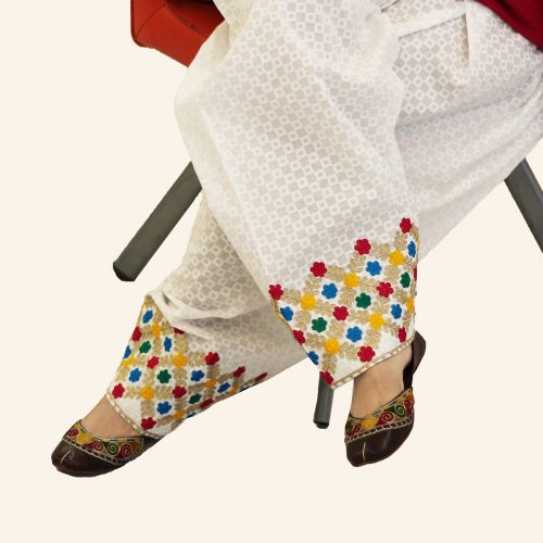 Embroidery Trouser for women