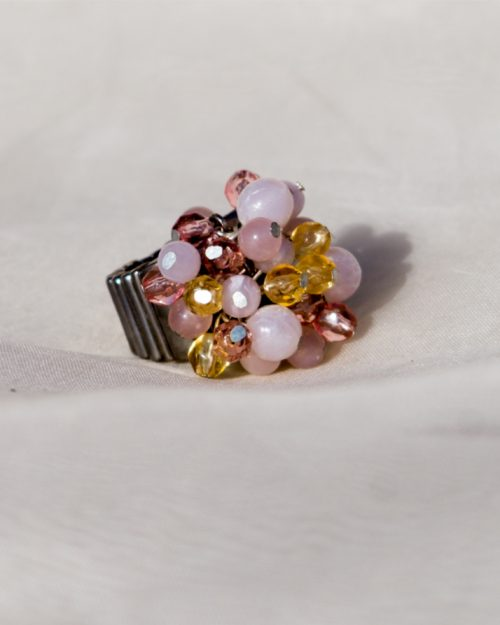Opal Stones in Gold Plated Ring