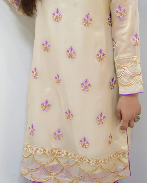 Gold Maysuri Lavenda Gold 3 Piece