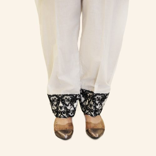 Embroidered Trouser for Woman